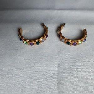 Vintage goldfilled hoop earrings